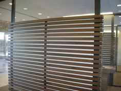 Sound Insulated partition wall