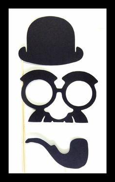 Charlie Chaplin photo props