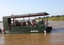 Boat trips in St Lucia, KwaZulu-Natal with Shakabarker Tours. Kwazulu Natal, Adventure Activities, World Heritage Sites, Marina Bay Sands, Trips, Things To Do, Ocean, Boat, Crocodiles