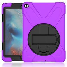 13.86$  Buy here - http://ali52h.shopchina.info/go.php?t=32799560423 -  For iPad air 2 Shockproof Kids Protector Case for iPad 6/air 2 Heavy Duty Silicone Hard Cover kickstand design  Hand bracel  #magazineonlinebeautiful