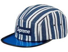 Blue Angler 5 Panel Cap by SUPREME