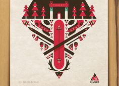 Target Chalet : Winter X Games by Aaron Melander, via Behance