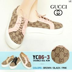 Gucci Sneakers YC-86-3 Pink Size 35-40 315rb