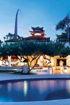 Amazing pool view of Grand Hyatt Bali