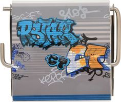 Graffiti Wall Mounted Printed Toilet Tissue Roll Holder