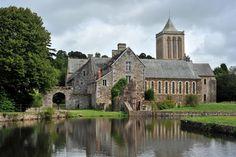 Abbaye de la Lucerne d'Outremer - Manche, FR.