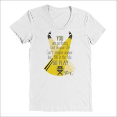 You are Perfectly Cast, Go Play - Women's Tee
