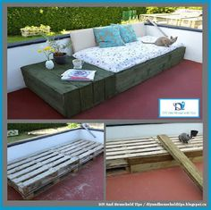 DIY And Household Tips: DIY Pallet Daybed