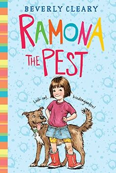 """Lee """"Ramona la chinche Ramona the Pest (Spanish edition)"""" de Beverly Cleary disponible en Rakuten Kobo. Newbery Medal winning author Beverly Cleary expertly depicts the trials and triumphs of growing up through a relatable h. Jedi Academy Books, Origami Yoda Book, Ramona The Pest, Ramona Books, Gary Soto, Mouse And The Motorcycle, Funny Books For Kids, Superhero Names, Beverly Cleary"""