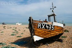 Fishing boats, Dungeness, Kent, UK