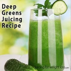 If you are looking for a beautifully green juicing recipe this recipe will do the trick.