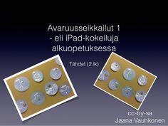 Avaruusseikkailuja 1 eli iPad-kokeiluja alkuopetuksessa