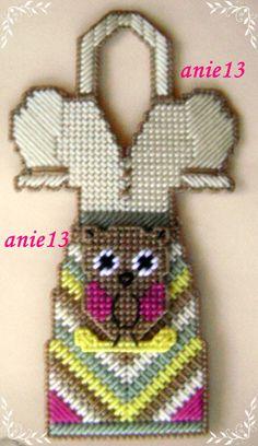 Owl dish apron