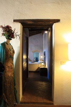 The princess room.  Locanda del Loggiato ~ Bagno Vignoni (SI)