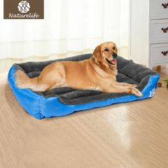Pet Supplies Six Sizes Dog Bed Warming Dog House Soft Material Fall an – Crazy Grandma's