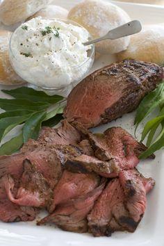 Holiday Beef Tenderloin With Horseradish Cream : Stltoday