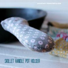 Skillet Handle Pot Holder