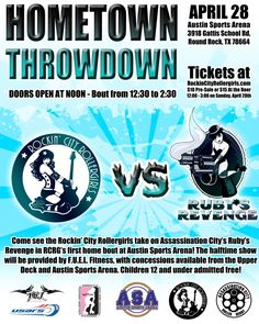 RCRG's first home bout 4-28-13