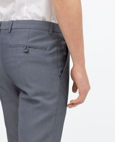 Image 4 of SUIT TROUSERS from Zara