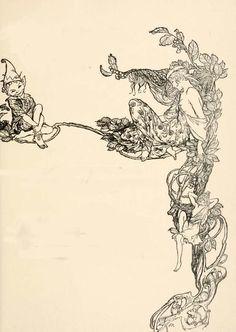 Midsummer Night's Dream by Arthur Rackham - myfairyland