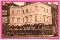 Bruxelles - La Coupole - Taverne Hôtel Restaurant - JEAN DELHAYE - Panneau FORD - Vieilles Voitures - A. MONTMORENCY