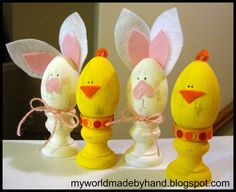 Awesome Easter crafts on I Heart Nap Time