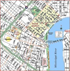 Know This Map Of New Orleans Metro Crazy For Nawlins - Map of new orleans usa
