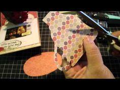 Coffee Mug Pop-Up Card/Tutorial using the Sizzix teacup die