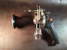 Custom Order--Ray Gun, Steampunk Gun, Cosplay Gun by MichaelStephensArt on Etsy https://www.etsy.com/listing/464043519/custom-order-ray-gun-steampunk-gun