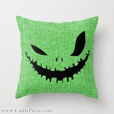 Oogie Boogie Man pillow by CanisPicta on Etsy