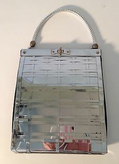 Vintage Dorset amp Rex Fifth Avenue Silver Handbag Purse Vintage Purses, Vintage Bags, Vintage Handbags, Handbag Accessories, Purses And Handbags, Vintage Fashion, Silver Lining, Ebay, Baggage