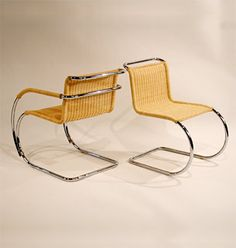 MR Lounge Chair with Arms 247, Ludwig Mies van de Rohe, 1927