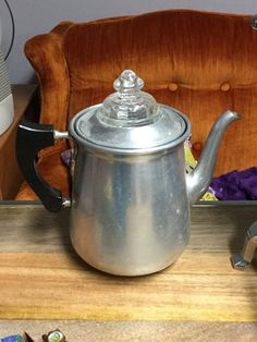 makes the best coffee......Vintage Coffee Percolator by lambsandlions on Etsy