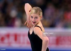 Gracie Gold from the United States during the Ladies Short Program competition of the World Figure Skating Championships at TD Garden in Boston on March 31, 2016.