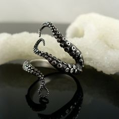 SALE Handmade Jewelry Tentacle Ring Octopus Ring by OctopusMe