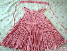 Conjunto de vestido e tiara para bebê