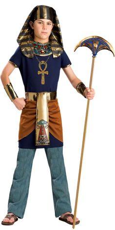 Boys Egyptian King Costume - Party City  sc 1 st  Pinterest & Boys Egyptian Pharaoh Kit King Fancy Dress Book Week Costume ...