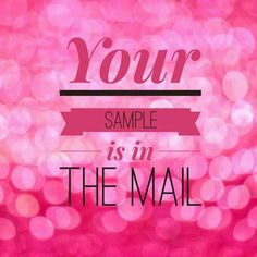 Get your sample! Like my FB page and request the sample you want. :) http://poshedmary.po.sh/products