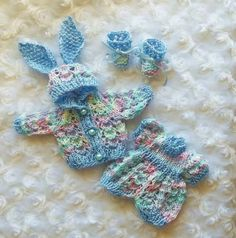 cute baby clothes - bunny outfit, dress, booties