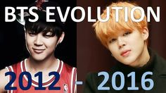 BTS EVOLUTION 2012-2016 (All versions included) - EXCUSE CUSSING - you make me happy xox <3 <3 <3