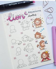 Would you like to learn how to add doodles to your bullet journal? The internet is filled with fun and creative bullet journal doodle ideas and tutorials. Doodle Art For Beginners, Easy Doodle Art, Cool Doodles, Beginner Art, Simple Doodles, How To Draw Doodle, Doodle Doodle, Bullet Journal Writing, Bullet Journal Ideas Pages
