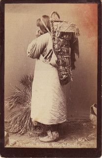 American Native American woman with baby on back board | Flickr - Photo Sharing!