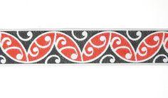 Red and Black Maori Koru Braid http://www.shopenzed.com/red-and-black-maori-koru-braid-xidp439418.html