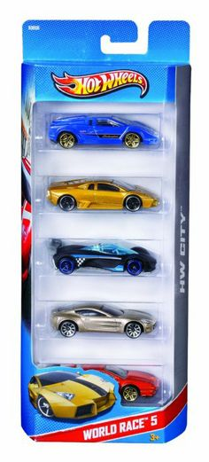 Amazon.com: Hot Wheels 5 Car Gift Pack (Styles May Vary): Toys & Games