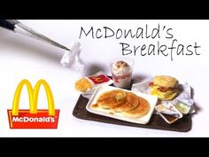 Miniature McDonald's Inspired Counter Tutorial // Dolls/Dollhouse - YouTube