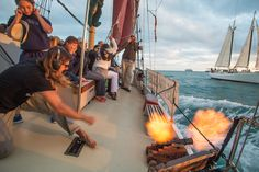 Sailing into the sunset: That's pretty much how any good day in Key West should end. I arrived early, checking in with the captain for a sailing adventure aboard the Jolly II Rover, an 80-foot scho…
