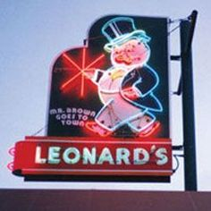 leonards bbq sign memphis - Google Search