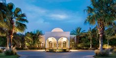 Entrance of The Luxury Resort - The Oberoi, Sahl Hasheesh