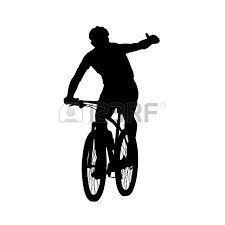 Výsledek obrázku pro cros cyclist silhouettes