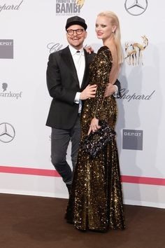 Pin for Later: Seht alle Stars bei der Tribute to Bambi Gala in Berlin Armin Morbach und Franziska Knuppe
